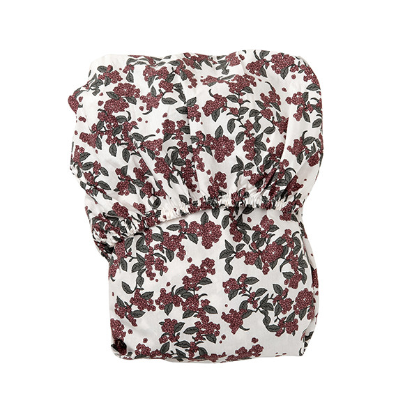 Fitted Sheet 90x200 - Cherrie Blossom Multicolour Garbo and Friends