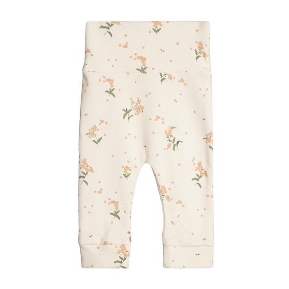 Newborn Pants - Forget Me Not White Garbo and Friends