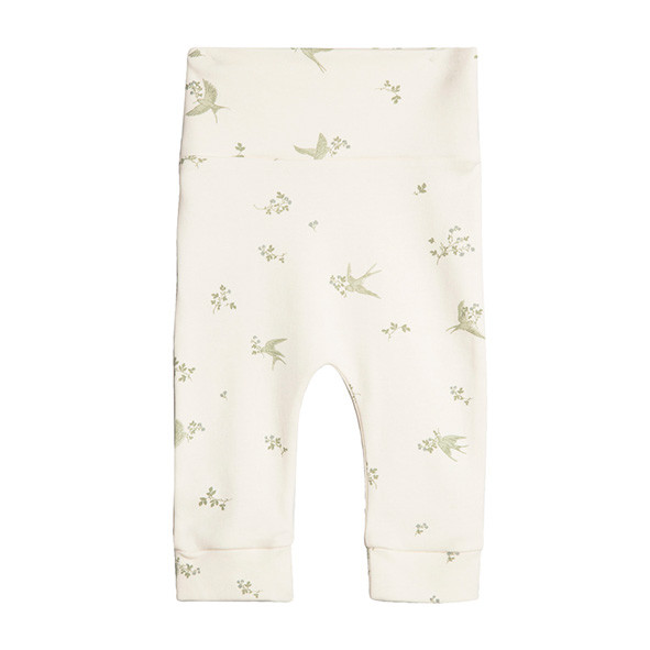 Newborn Pants - Swallows White Garbo and Friends