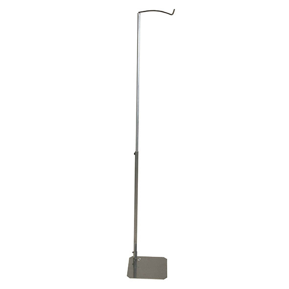Canopy Stand - Silver  Metal Jollein