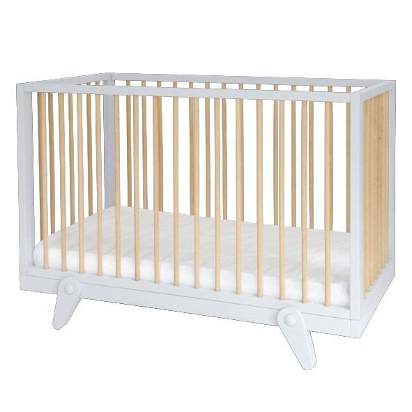 Cot Bed Petipeton 60 x 120 - Color to choose Multicolour Laurette