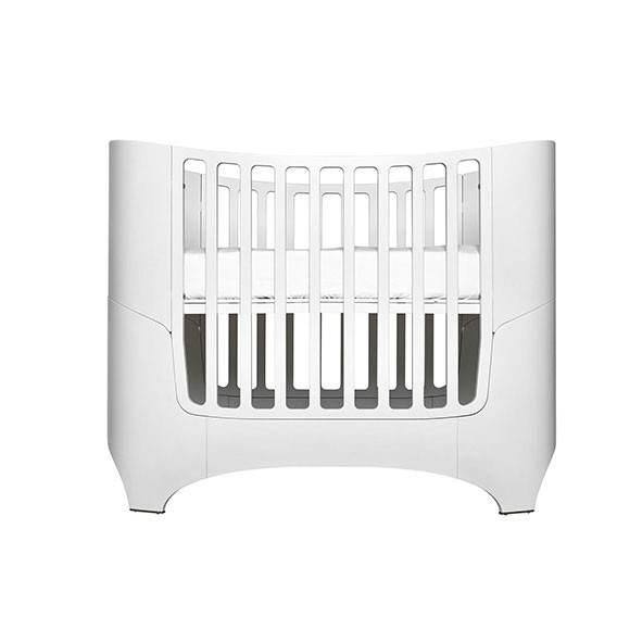 Convertible crib to junior bed 0 7 years old White Leander - convertible bed