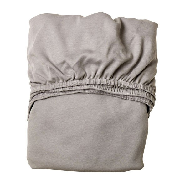 Set of 2 fitted sheets 60x120cm - Light Grey Grey Leander