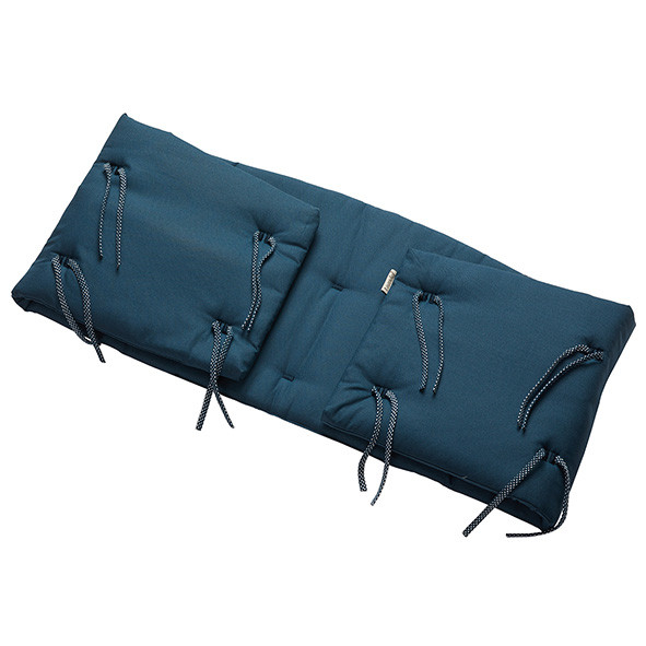 Bumper for Classic Cot - Dark Blue Blue Leander