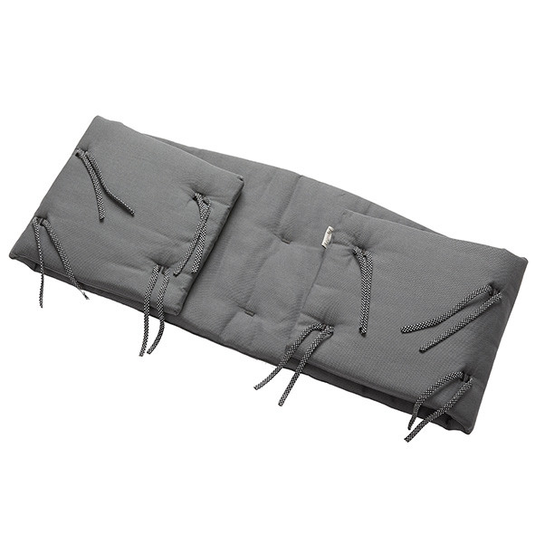 Bumper for Classic Cot - Cool Grey Grey Leander