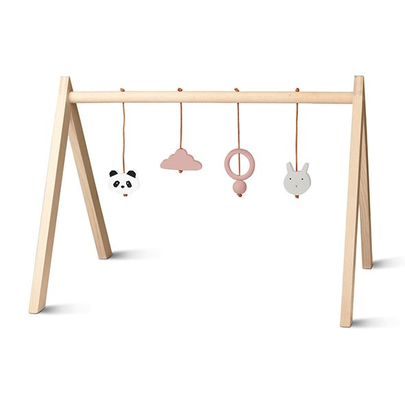 Wooden Play Gym - Mix Rose Nature Liewood