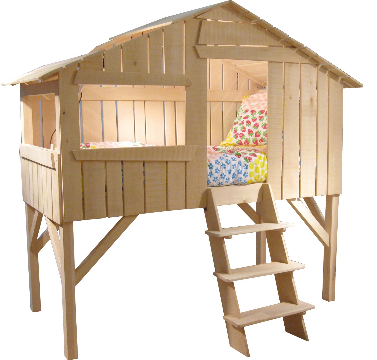 Treehouse Bed Natural Mathy By Bols Mylittleroom
