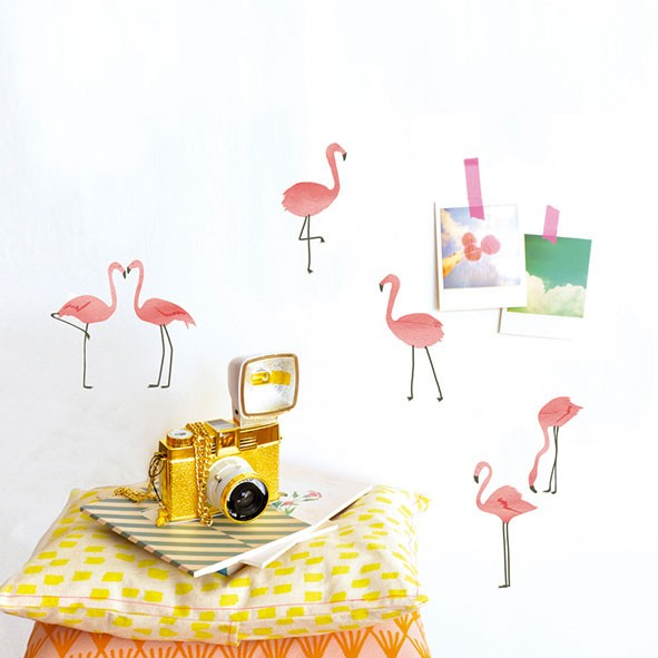 Just a touch - Pink Flamingos Pink MIMI'lou