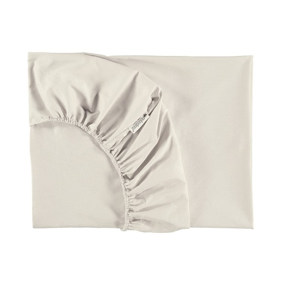 Fitted Sheet Alhambra 70 x 140 cm - Natural White Nobodinoz