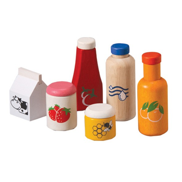 Food and beverage set Multicolour Plantoys