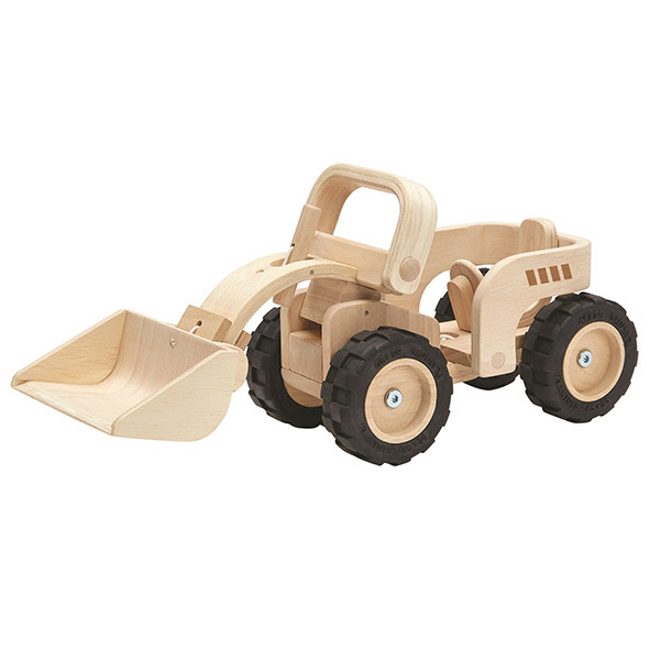Bulldozer - Limited Edition Natural Nature Plantoys