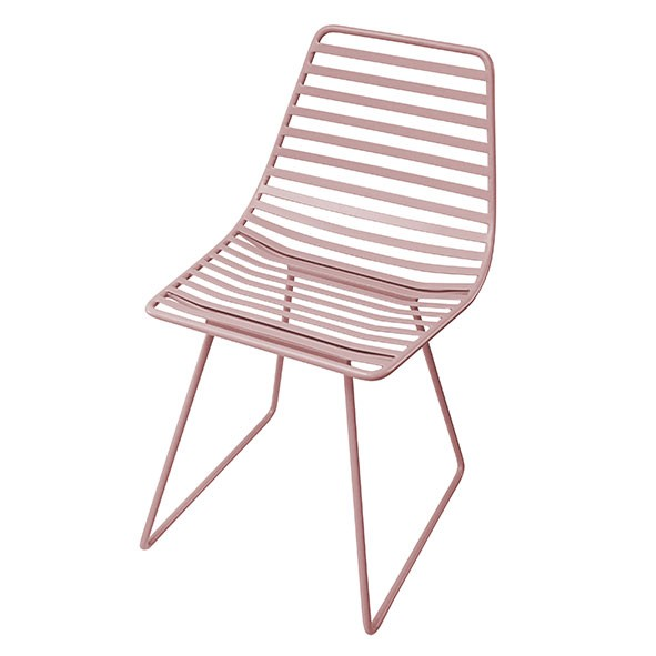 Metal chair Me-Sit - Pink - S  Pink Sebra