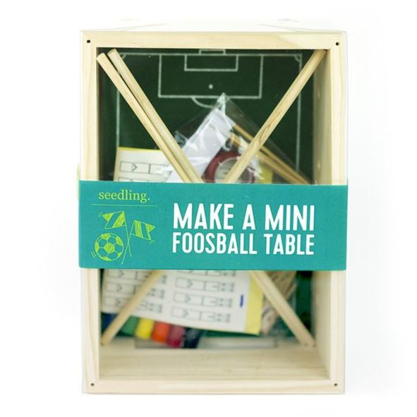 Make A Mini Foosball Table  Multicolour Seedling