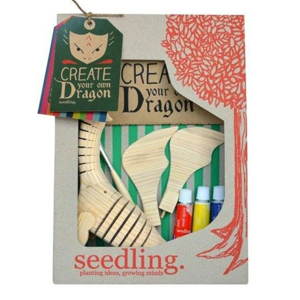 Create your own Dragon  Multicolour Seedling