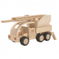 Fire Engine - Limited Edition Natural Nature Plan Toys