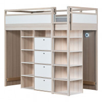 HIgh Bed 90x200cm Spot - Right Nature Vox