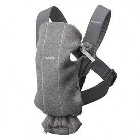 Baby Carrier Mini 3D Jersey - Dark Grey