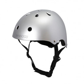 Bike Helmet - Chrome