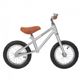 First Go Balance Bike - Chrome