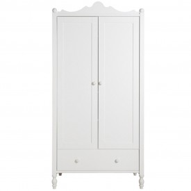 Belle 2 Doors Wardrobe