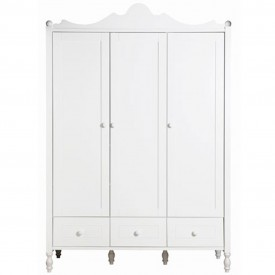 Belle 3 Doors Wardrobe
