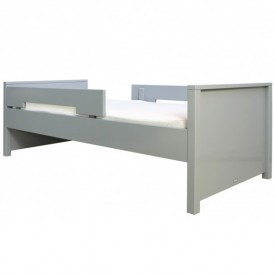 Single Bed Jonne 90 x 200 cm Mix & Match - Pure Grey
