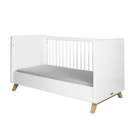 Convertible Cot / Bench Bed Lynn 70 x 140 cm