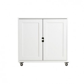 2 Doors Cabinet S Mix & Match - White
