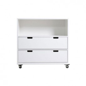 Chest on Wheels S Mix & Match - White