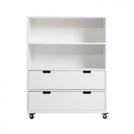 Chest on Wheels M Mix & Match - White