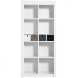 Bookcase Kim Mix & Match - White