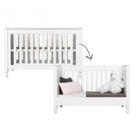 Convertible cot bed 60x120cm Victoria