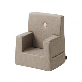 Kids Chair - Warm Grey / Peach