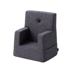 Kids Chair - Blue Grey / Grey Grey by KlipKlap