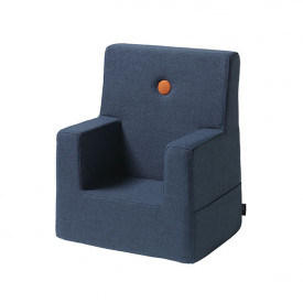Kids Chair - Dark Blue / Orange