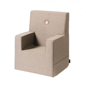 Kids Chair XL - Warm Grey / Peach