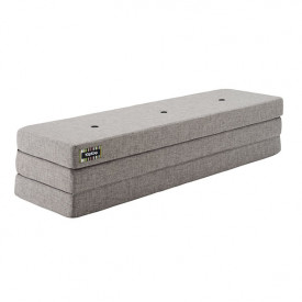 Mattress 3 Fold - Multi Grey / Grey