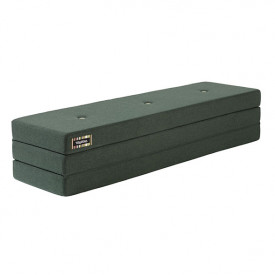 Mattress 3 Fold - Deep Green / Light Green