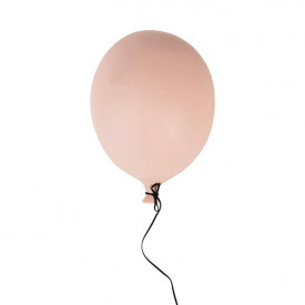 Ceramic Balloon Decoration - L - Pink