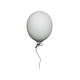 Ceramic Balloon Decoration - S - White