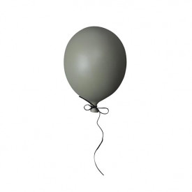 Ceramic Balloon Decoration - S - Dark Green