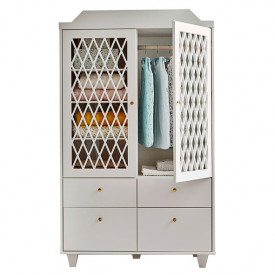 Harlequin Wardrobe - Light Sand