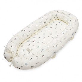 Baby nest with lining - Holiday