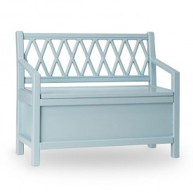 Harlequin Storage bench - Petroleum