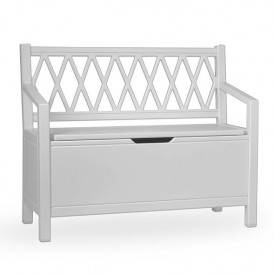 Harlequin Storage bench - Grey