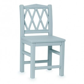 Harlequin Kid's chair - Blue
