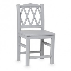 Harlequin Kid's chair - Grey
