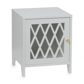Harlequin Bed Side Table - Grey