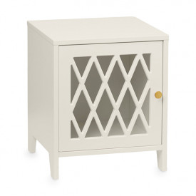Harlequin Bed Side Table - Light Sand