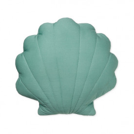 Sea Shell Cushion - Canal Green